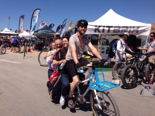 xtracycle bosh edgerunner electric cargo bike new wheel