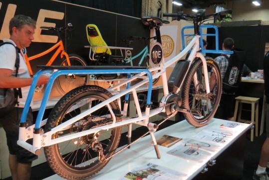 xtracycle bosh edgerunner electric cargo bike side