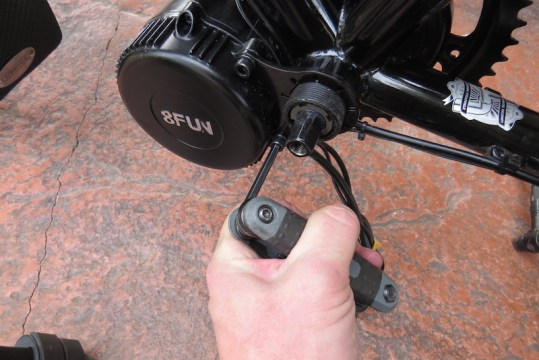 Dillenger Bafang motor mount