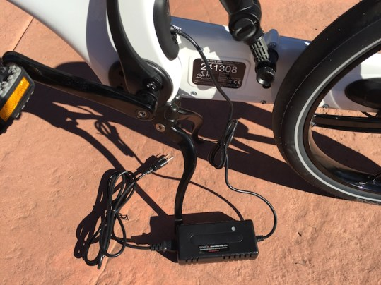Gocycle charger
