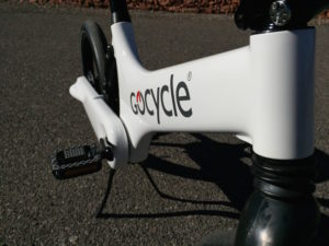 Gocycle frame
