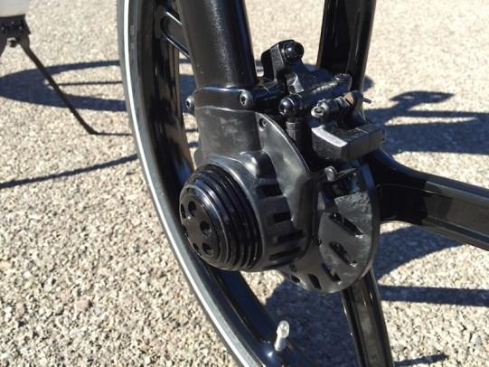 Gocycle motor