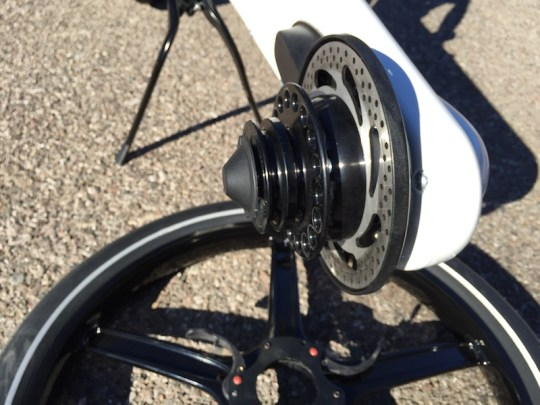 Gocycle rear hub