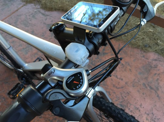 GenZe Sport electric bike shifter