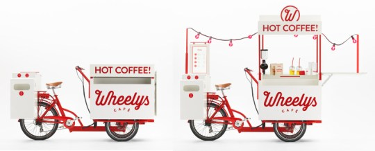 wheelys coffee cart electric trike