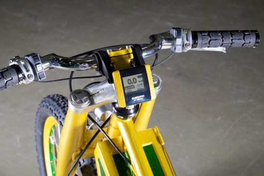 peacock groove electric bike handlebar