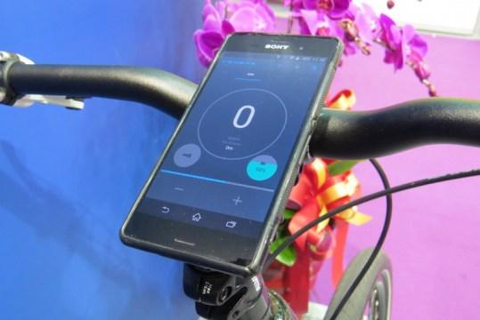 visiobike electric bike display