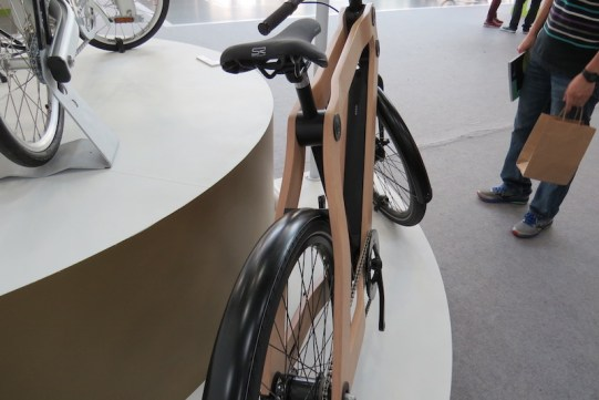wood protanium electric bike frame