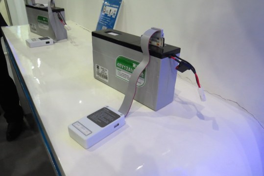 Phylion lithium battery with cloud connected diagnostic tool.