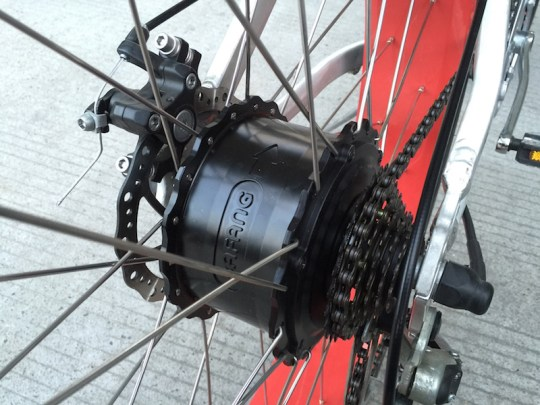 bafang motor rear hub