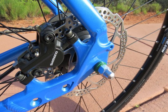 raleigh misceo electric rear brake