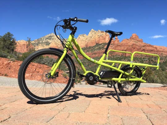 yuba spicy curry electric cargo bike