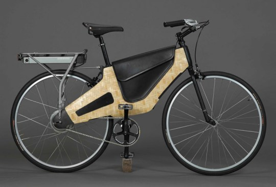 HERO bike bamboo electric bike