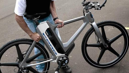 Ford Flex electric bike 1