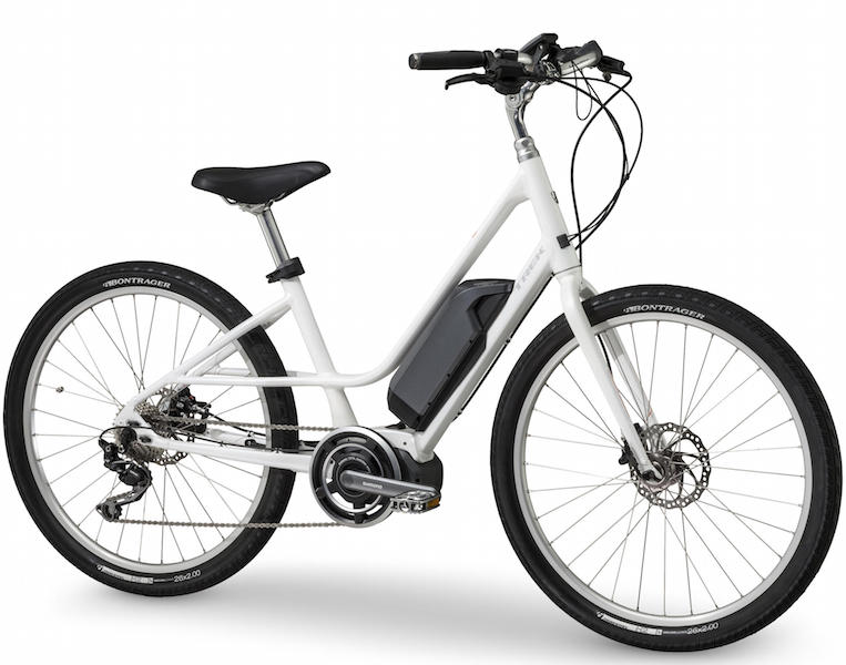 Trek Lift step thru electric bike