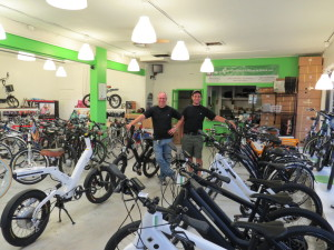 The Electric Bike Store in Ft. Lauderdale Florida.