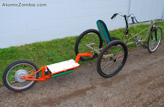 10 Electric Bike Motorized Trailers for an Extra Boost
