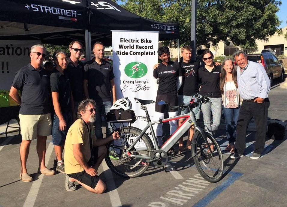electric bike world record