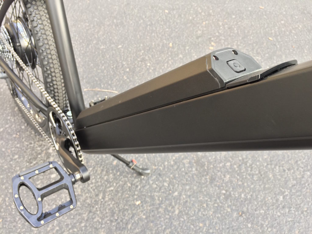 ProdecoTech Phantom XR electric bike downtube battery