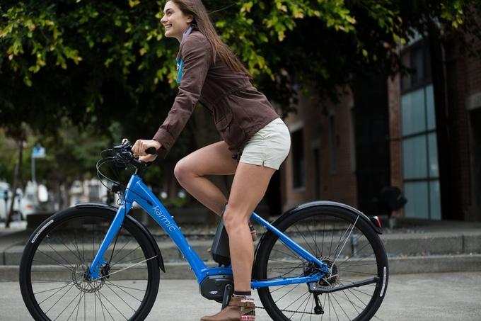 karmic kyoto electric bike rider