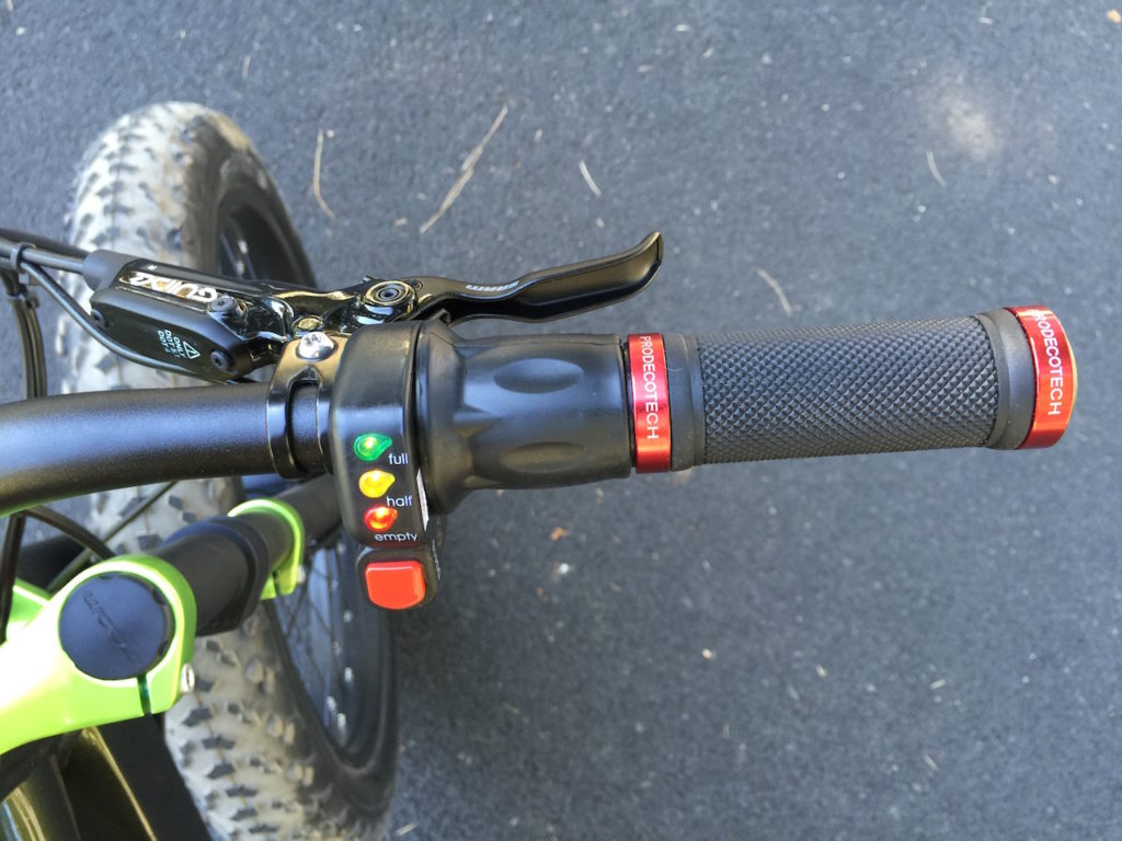 prodecotech rebel x9 throttle