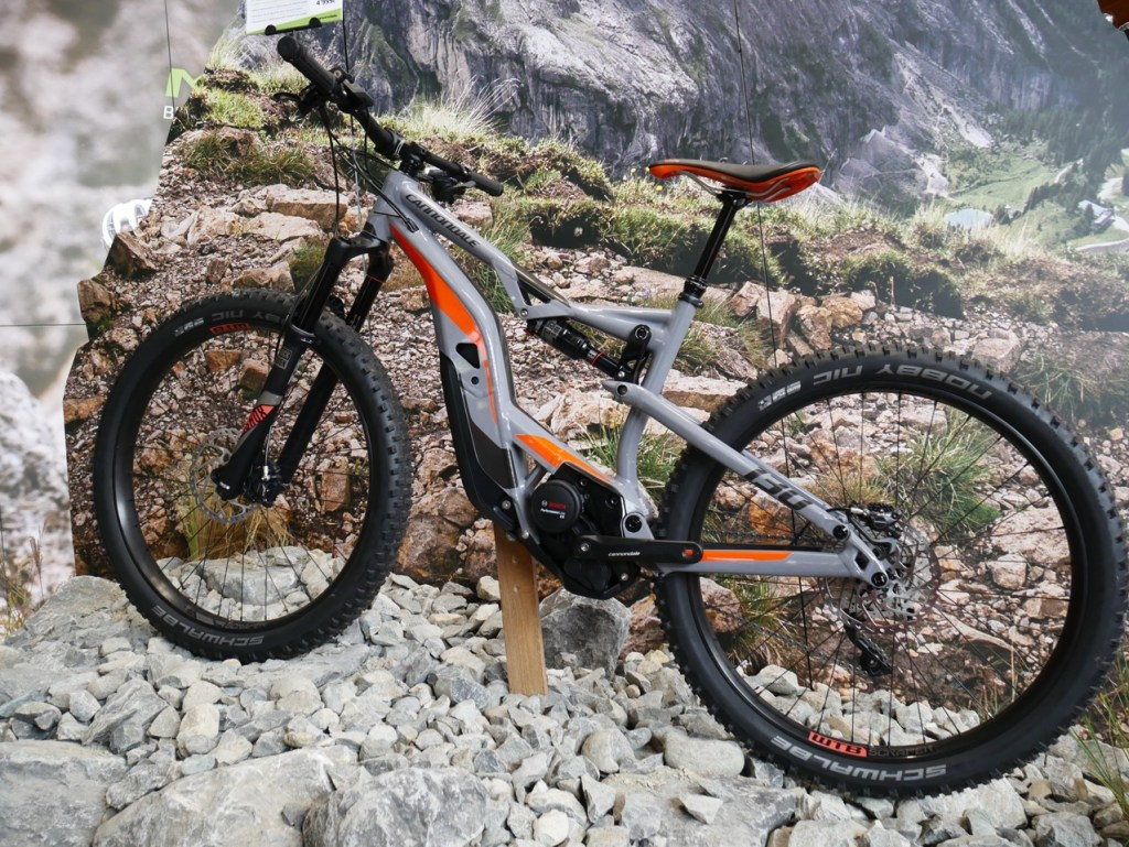 cannondale electric mountain bike 2