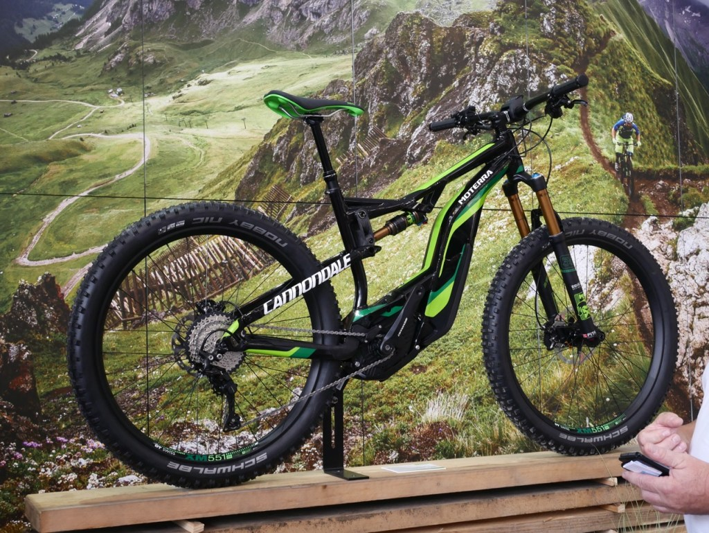 cannondale electric mountain bike 3