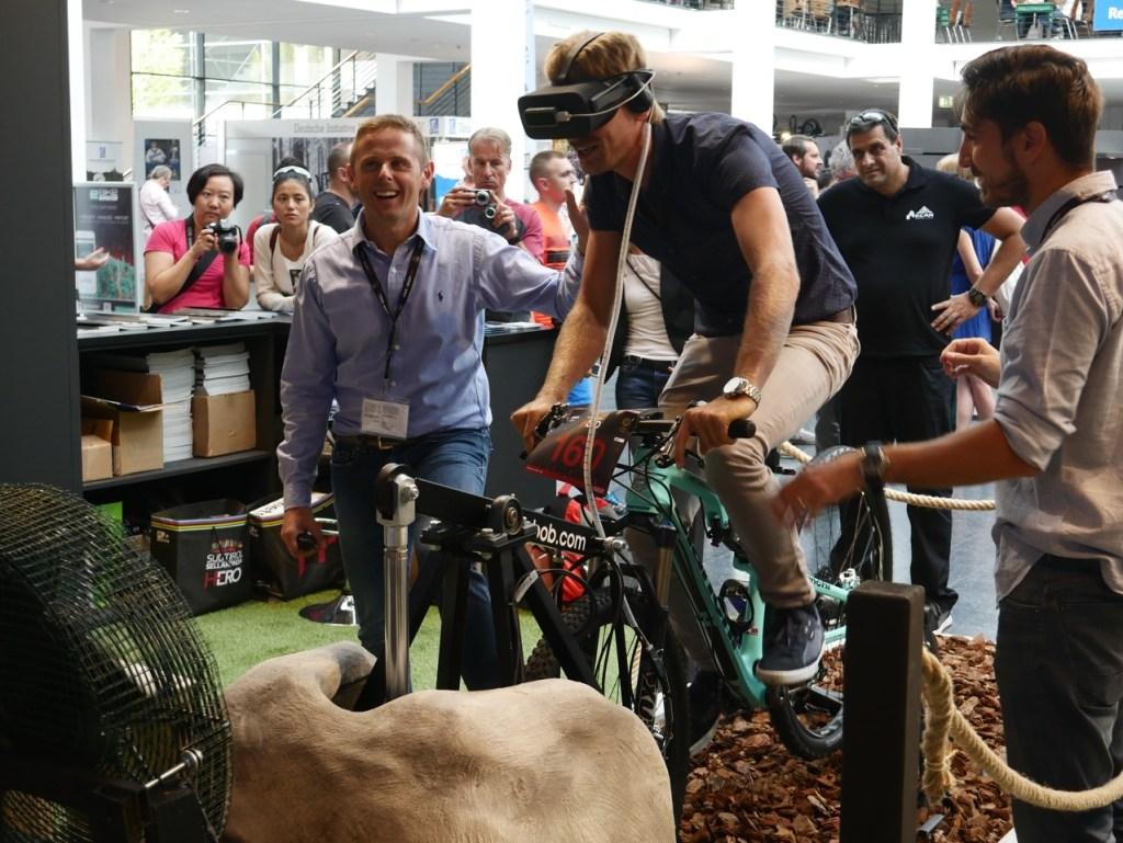 virtual reality biking