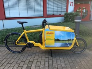 Larry Harry DHL electric cargo bike
