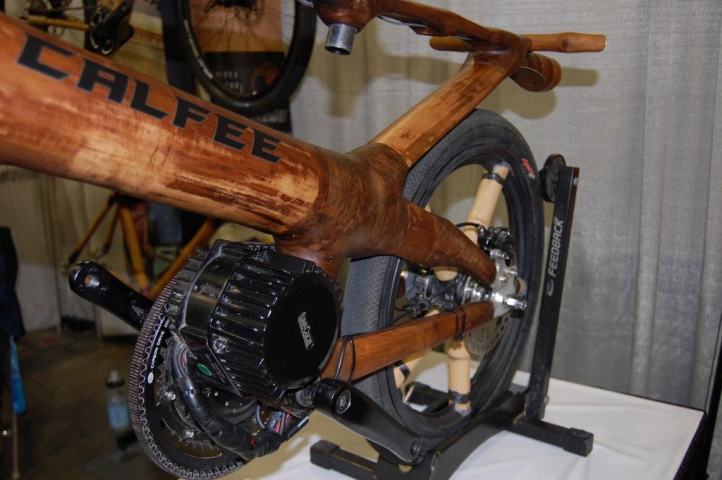 Calfee bamboo electric bike 2