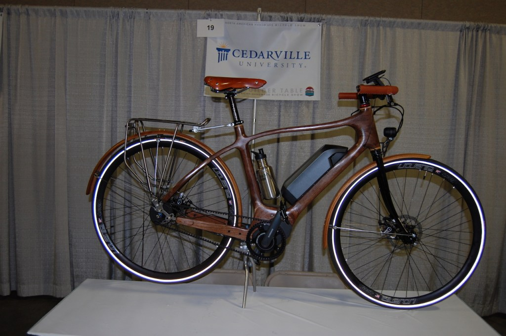 Cedarville wood electric bike 1