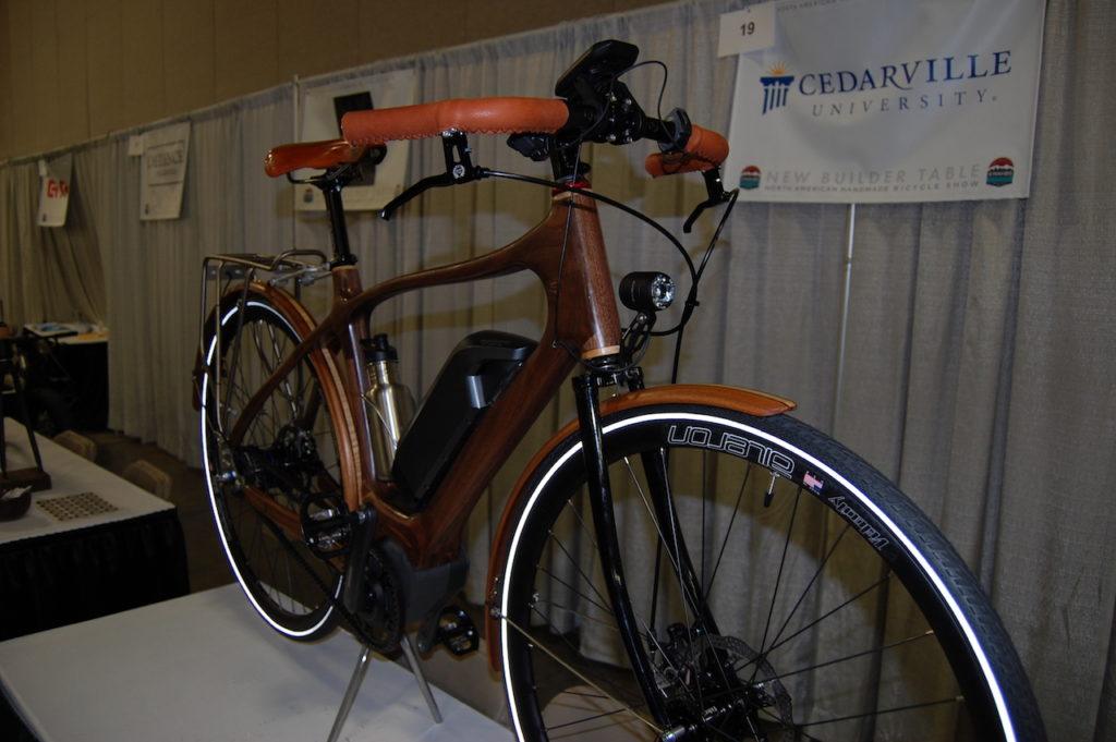 Cedarville wood electric bike 2