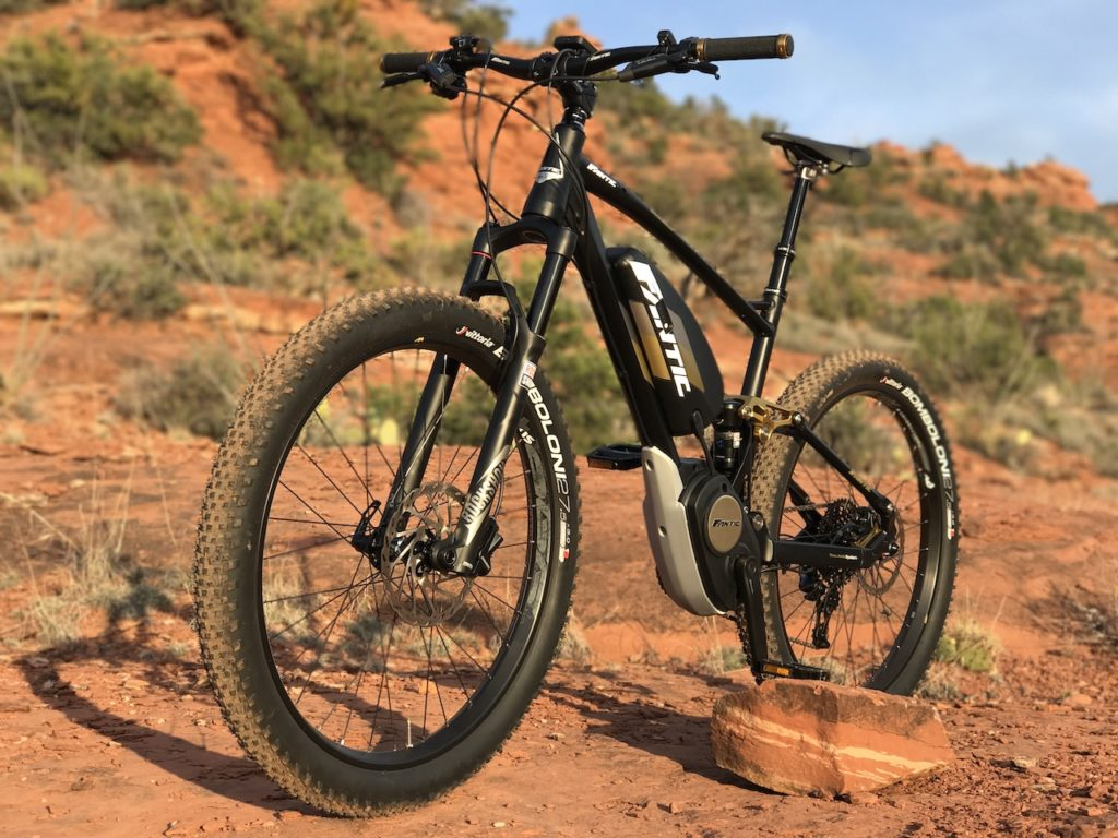 Fantic XF1 Casa electric mountain bike 10