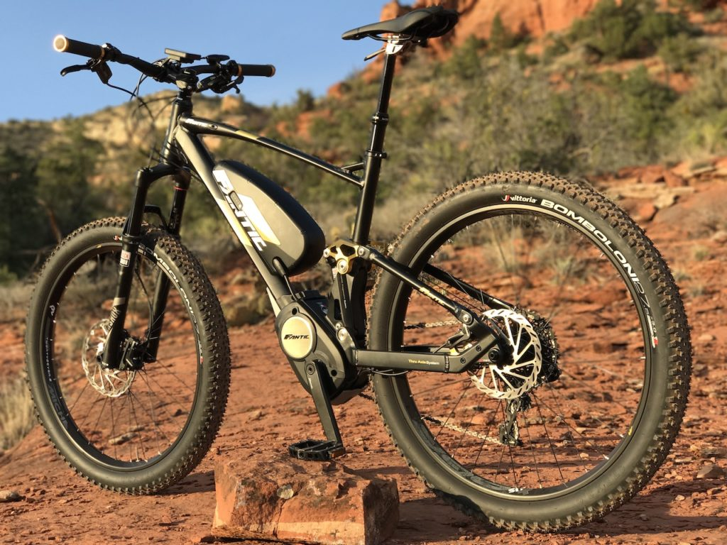 Fantic XF1 Casa electric mountain bike 9