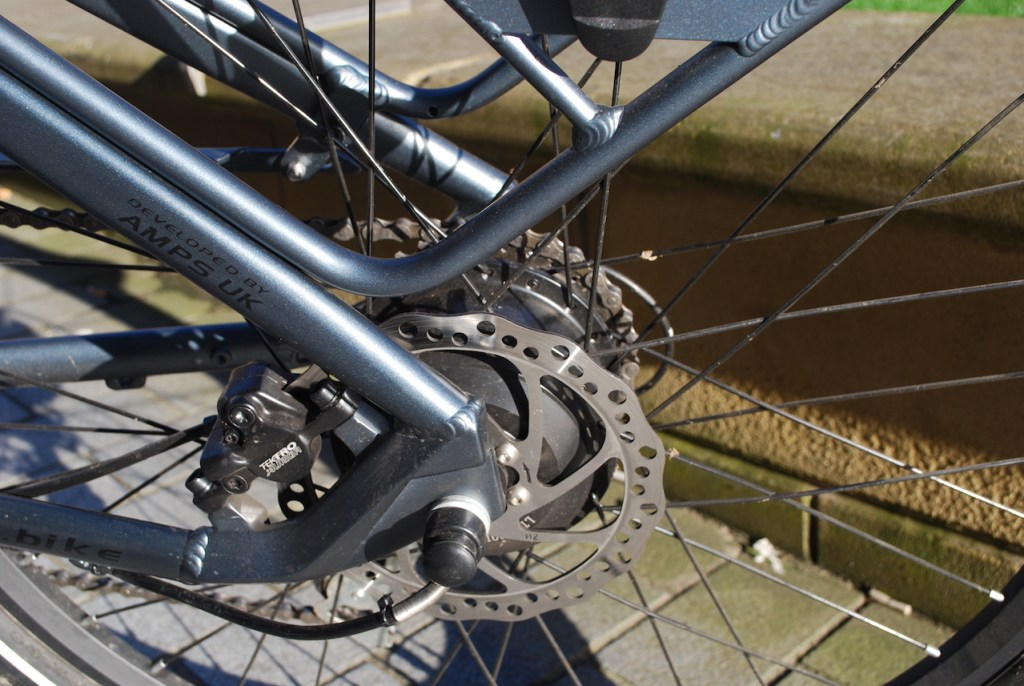 Wipser 705 electric bike rear disc brake