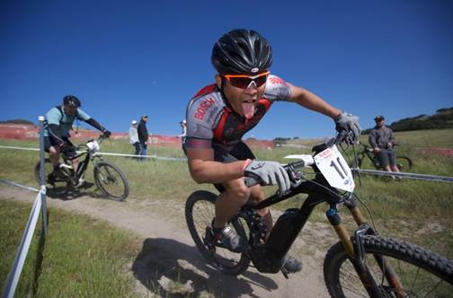 electric mountain bike race