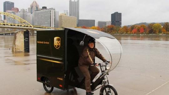 eBike News: UPS eTrikes, All Wheel Drive, RadRhino, Captain Kirk, Carbon eRoad, Paris eShare, & More! [VIDEOS]