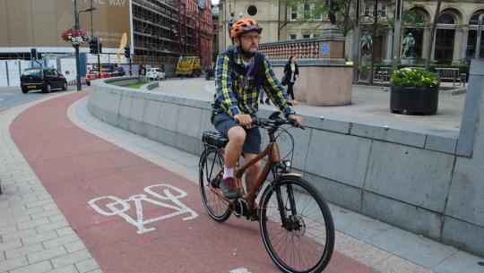 Bamboo eBike & Trike Testing on the Leeds-Bradford Cycle Superhighway