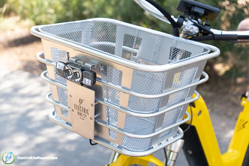 Electric Bike Company - Model R - Basket and Headlight-min