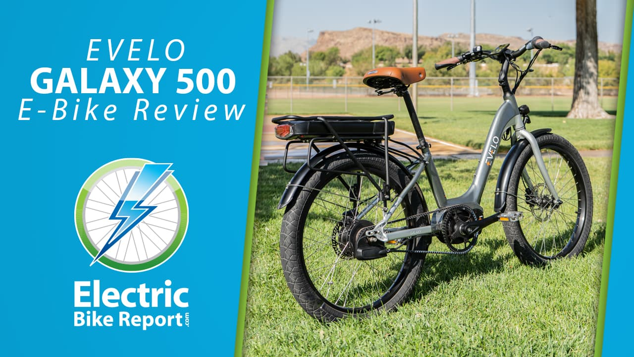 Electric bike report evelo galaxy 500 review