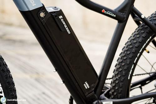 Surface604 Hardtail EMTB-Battery
