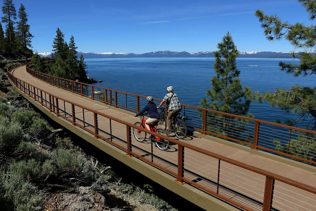 Tahoe east shire trail