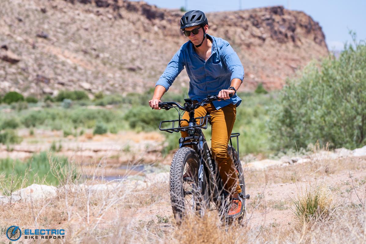 Aventon - Aventure - Riding
