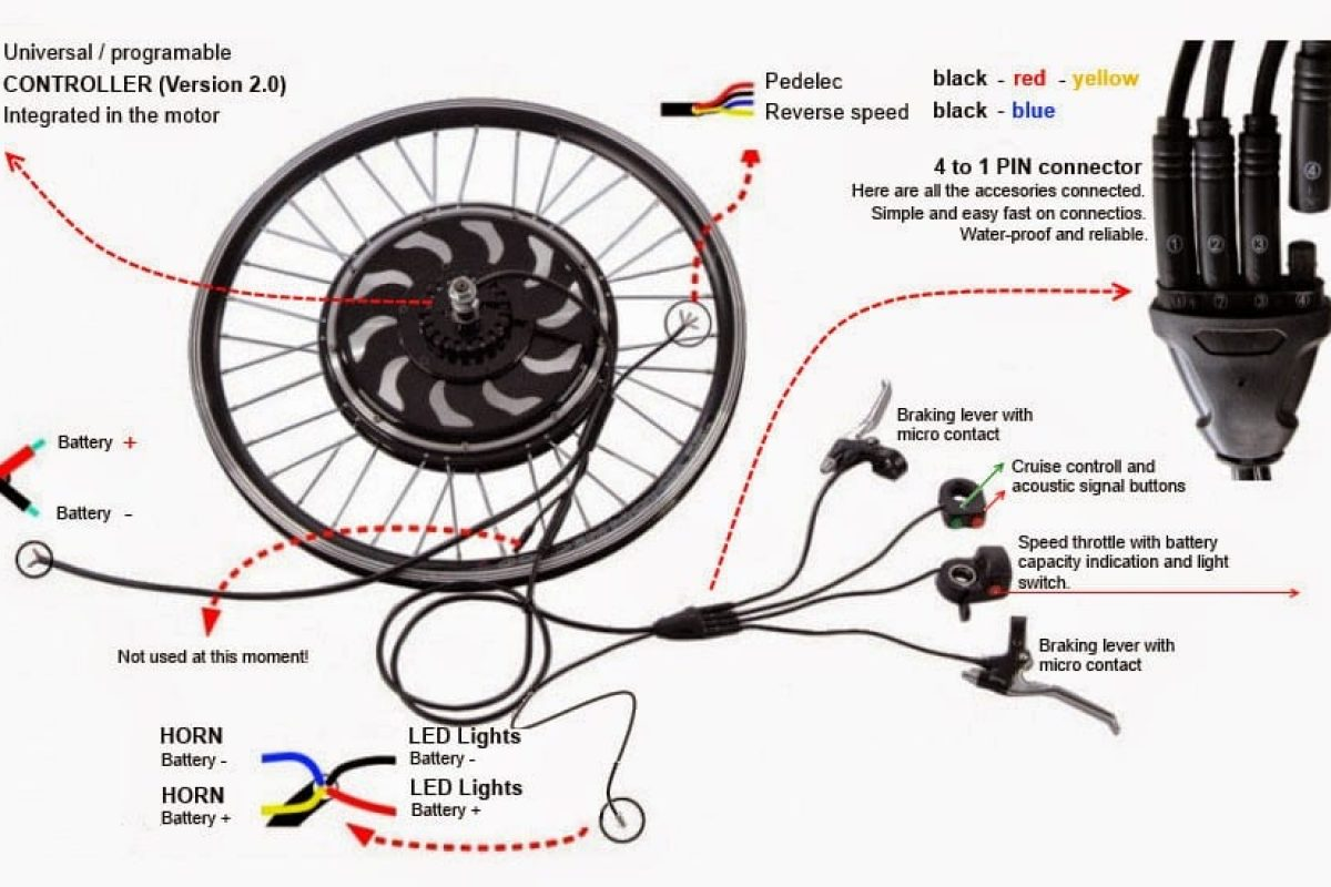 24v E Scooter Wiring Diagram