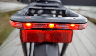 Taillight integrates into the rack