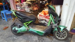 This is just en electric scooter
