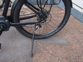 The kickstand might fold up when you don't want it to