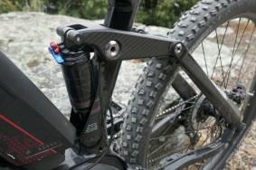 It's an alloy rocker with a carbon fiber sticker
