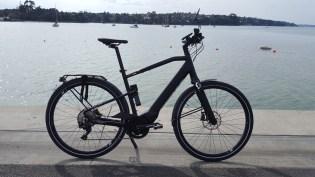 It is a striking bike. See how tall that head tube is?