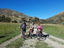 Who could be unhappy with this crew, this country and ebikes!